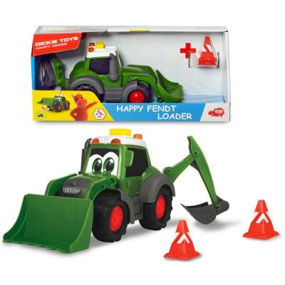 Игрушка Dickie Toys Погрузчик Happy Fendt  21 см
