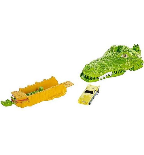 Игровой трек Hot Wheels Crocodile crunch