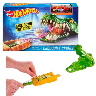 "Игровой трек Hot Wheels ""Crocodile crunch"""