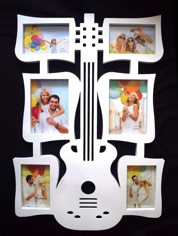 Рамка для фото в форме гитары